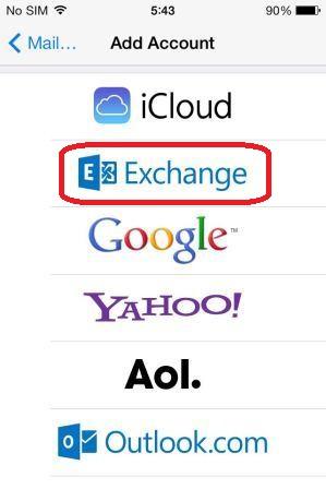 iOS7-Add Account